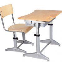 Bộ bàn ghế học sinh Xuân Hòa BHS-14-04CS
