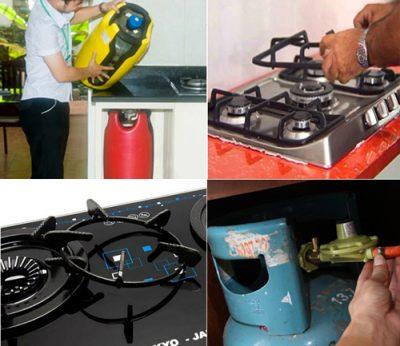 Phòng chống cháy nổ bằng cách kiểm tra an toàn bếp định kỳ
