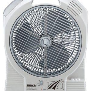 Quạt tích điện Sunca 399A – 2 ắc quy