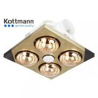 Đèn sưởi nhà tắm Kottmann K4BT – 4 bóng