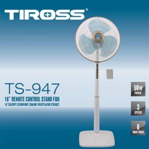 QUẠT CÂY CÓ ĐIỀU KHIỂN TIROSS TS-947