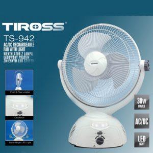 QUẠT SẠC TIROSS TS-942