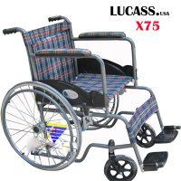 XE LĂN THƯỜNG VẢI KẺ LUCASS X75