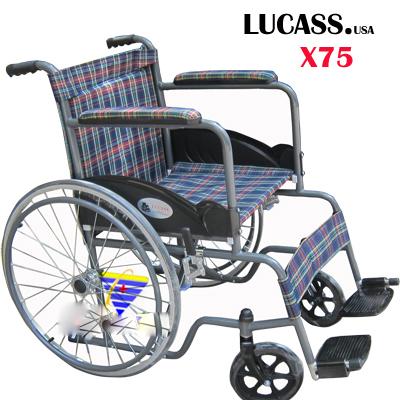 Xe lăn tiêu chuẩn Lucass X75