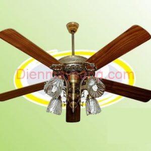 Quạt trần đèn trang trí SMC MV52VC