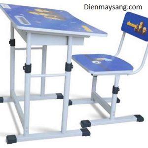 Bộ bàn ghế học sinh Xuân Hòa BHS-13-06 (xanh, hồng)