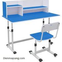 Bộ bàn ghế học sinh Xuân Hòa BHS-13-07 (xanh, hồng)