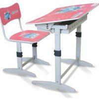 Bộ bàn ghế học sinh Xuân Hòa BHS-14-07 (màu hồng)