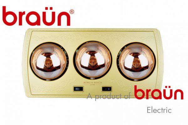 Đèn sưởi nhà tắm Braun BU03G