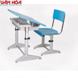 Bộ bàn ghế học sinh Xuân Hòa BHS-14-07