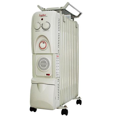 Máy sưởi dầu Saiko OR-5211T – 11 thanh, 2300W