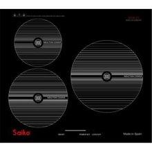 Bếp từ Saiko SK-6700 – 3 bếp, màu đen