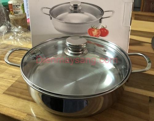 Nồi lẩu Inox 304 Smart Cook 5552KMB