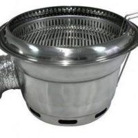Bếp Nướng Than Hoa Đặt Âm Bàn Cho Quán Nướng (hút dưới)