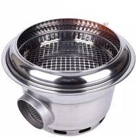 Bếp Nướng Âm Bàn BBQ HQ01 (hút dưới)