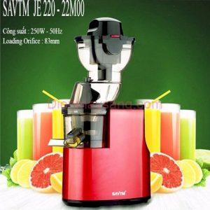 Máy ép trái cây tốc độ chậm SAVTM JE 220-22M00