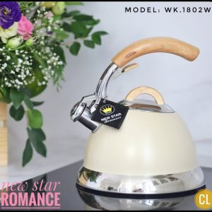 ẤM ĐUN NƯỚC INOX NEWSTAR ROMANCE WK_1802W
