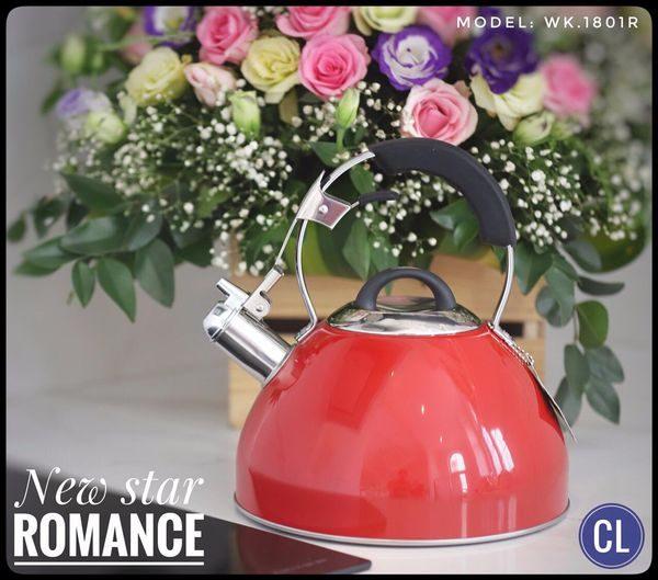 ẤM ĐUN NƯỚC INOX NEWSTAR ROMANCE WK_1801R