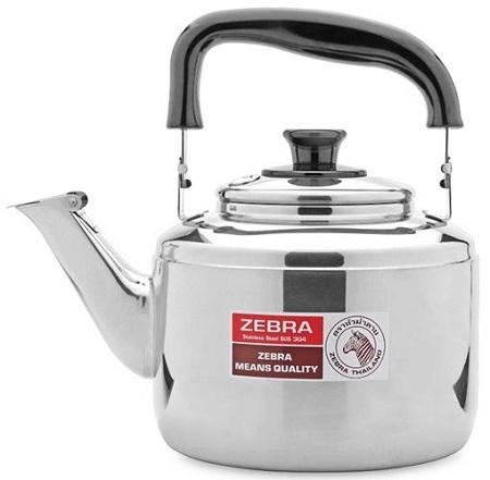 Ấm đun bếp gas inox 304 Zebra, loại dày