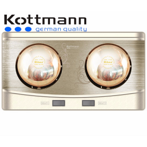 Đèn Sưởi Nhà Tắm 2 bóng Kottmann K2BQ