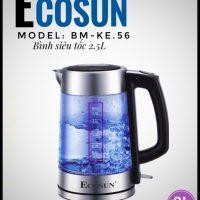 Bình siêu tốc Ecosun BM-KE56 – 2,5lit