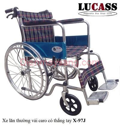 Xe lăn có phanh Lucass X79J
