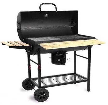 Bếp nướng than hoa lắp đậy có tay đẩy BBQ-05