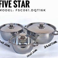 Bộ nồi Fivestar FSC061.DQT16K