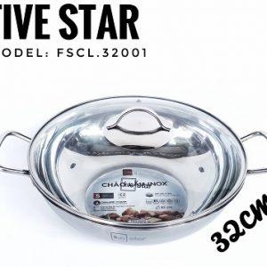 Chảo Lẩu Inox Fivestar FSCL-32001 (32cm)
