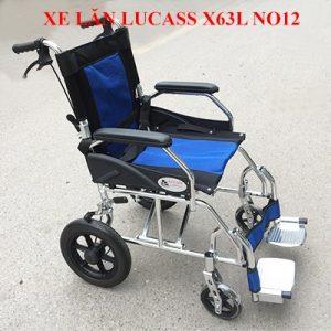 Xe lăn hợp kim nhôm du lịch siêu nhẹ Lucass X63L NO12