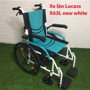 Xe lăn hợp kim nhôm siêu nhẹ Lucass X63L new