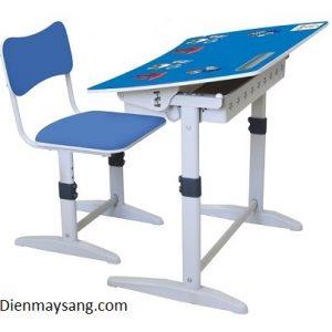 Bộ bàn ghế học sinh Xuân Hòa BHS-14-07A (màu xanh)