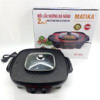 Nồi lẩu nướng Matika MTK-4020