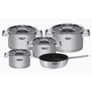 Bộ nồi từ 5 chiếc Inox Chefs EH-CW6304