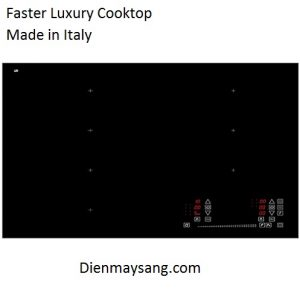 Bếp từ toàn vùng nấu Faster LUXURY COOKTOP