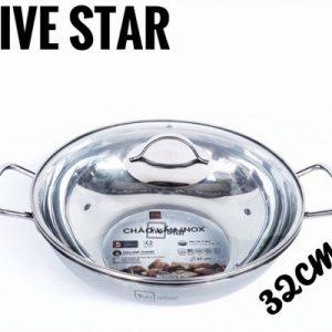 Chảo Lẩu Inox Fivestar 32cm