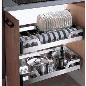 Giá để bát đĩa – giá xoong tủ dưới Faster FS-E080890/E080990