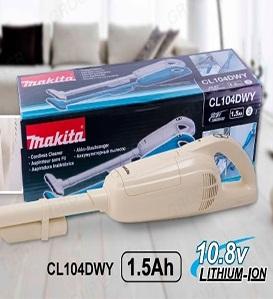 Máy hút bụi chạy pin Makita CL104DWY ( 10,8V)