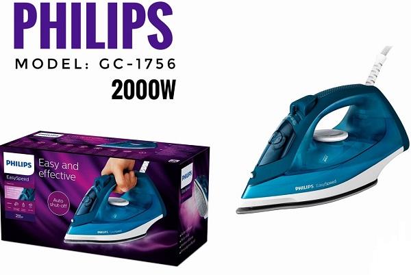 Bàn là hơi nước Philips GC1756