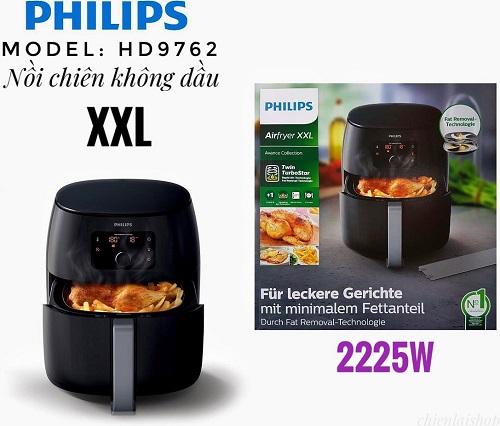 Nồi Chiên Không Dầu Philips XXL HD9762/90