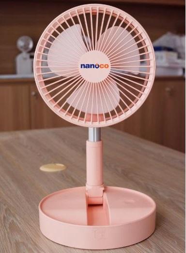 Quạt sạc tích điện Nanoco NFF1617