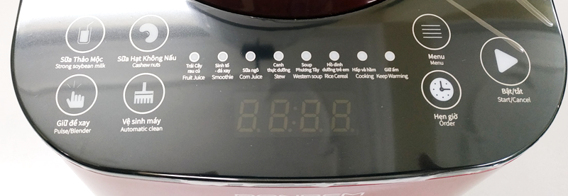 Máy làm sữa hạt Ranbem 735I – nắp Inox