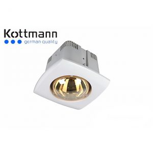 Đèn sưởi 1 bóng âm trần Kottmann K1A (hàng chính hãng)